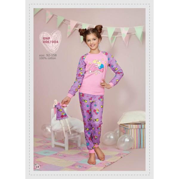 Домашняя одежда Пижама для девочки 006 004  р.92  - Интернет магазин  littlekids 6e3d488e16151