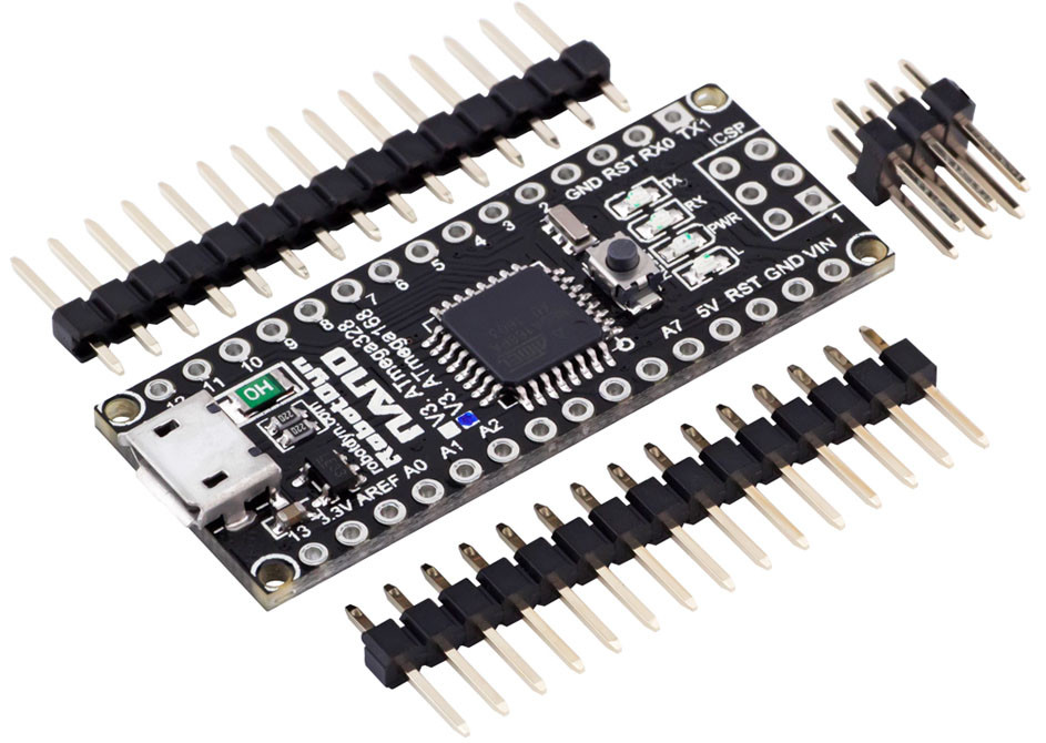 Arduino NANO V3.0 ATmega168 AVR P-20AU micro USB