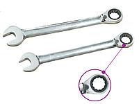 Ключ комбинированный трещоточный с реверсом 11мм