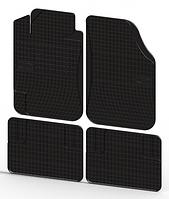 Универсальные резиновые коврики 4шт / цвет:черный / производитель Frogum
