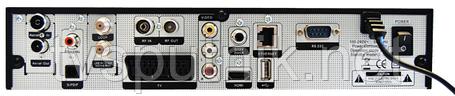 Спутниковый + кабельный HDTV тюнер (ресивер) Golden Media UNI-BOX 2, фото 2