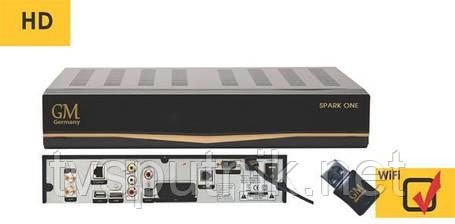Спутниковый HDTV тюнер (ресивер) Golden Media SPARK ONE HD, фото 2
