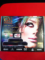 Спутниковый HDTV тюнер Golden Media UNI-BOX 2
