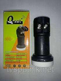 Спутниковый конвертор Q-SAT QK-02 (2выхода)