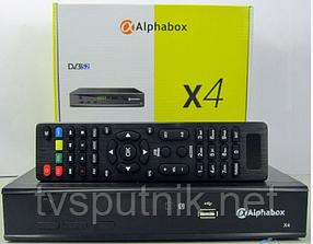 Спутниковый ресивер Alphabox X4 (HD/ Mpeg4)