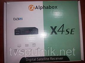 Спутниковый ресивер Alphabox X4SE HD (прошитый с каналами)