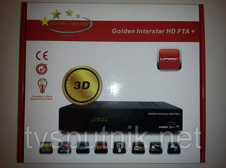 Спутниковый тюнер Golden Interstar HD FTA+ (прошитый), фото 2