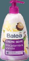 Жидкое крем мыло Balea Creme Macadamia & Vanille, 500 ml