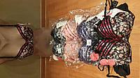 Женские бюстгальтеры COPPA чашка В с цветочками и сверху ленточка