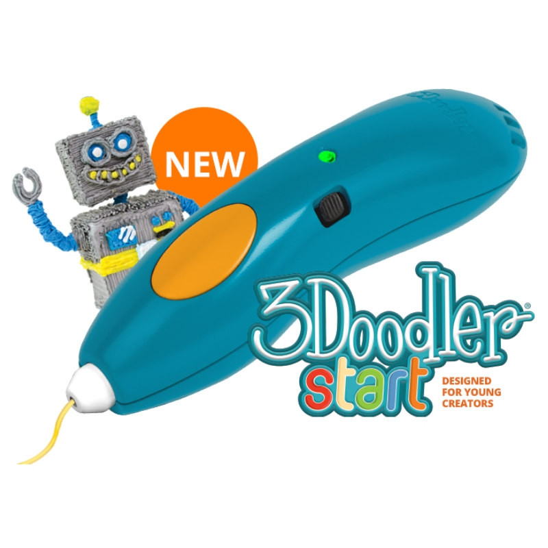 3D-ручка для дитячої творчості 3Doodler Start - Креатив (48 стрижнів)