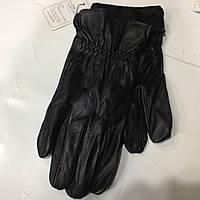 Перчатки мужские кожаные с мехом   оптом