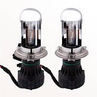 Ксеноновая лампа Н4 6000К Mitsumi Bi-Xenon (2шт.) + проводка