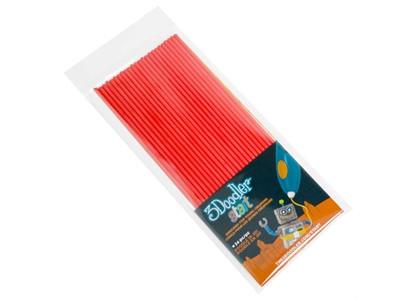 Набір стержнів для 3D-ручки (червоний, 24 шт.)