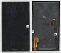 Дисплей + сенсор HTC One m7 dual sim 802w чёрный (оригинал)