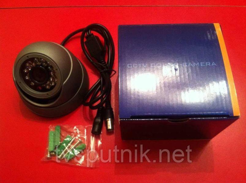 Цветная купольная Видеокамера MT-703DIR