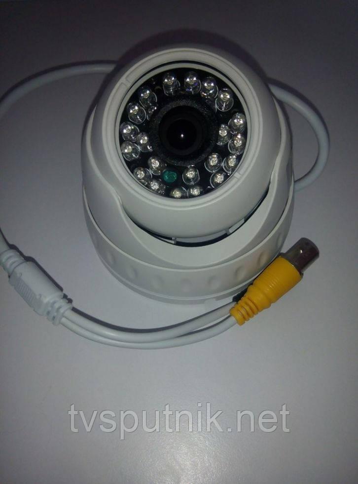 Цветная купольная камера LightVision VLC-4080D-IR