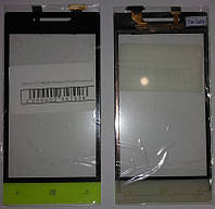 Сенсор HTC A620e Windows Phone 8S зелёный