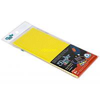 Набір стержнів для 3D-ручки (жовтий, 24 шт.)
