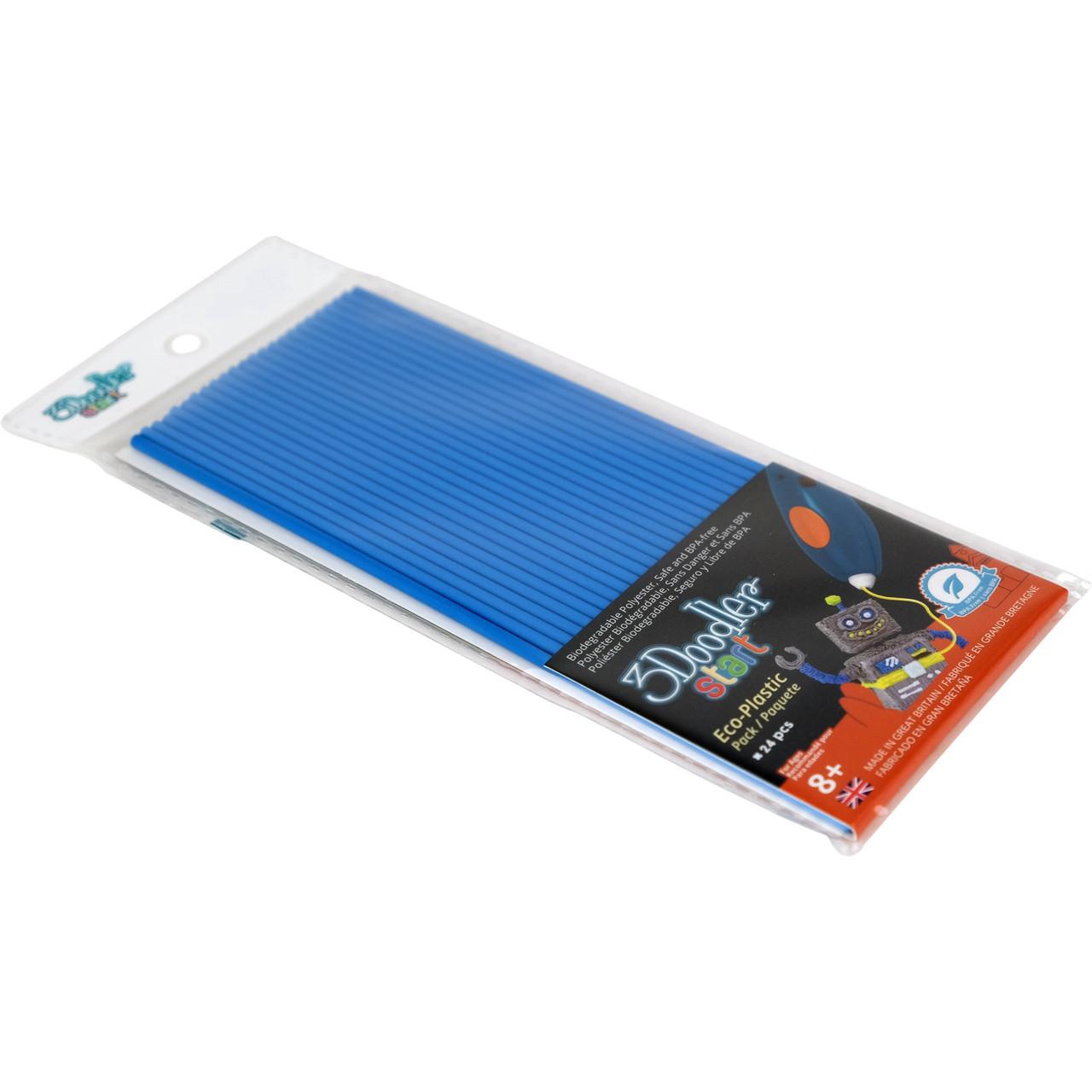 Набір стержнів для 3D-ручки (блакитний, 24 шт.)