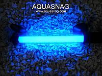 Подводная лампа 35см голубая