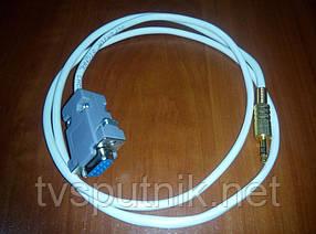 Шнур для прошивки RS-232 - Mini-jack 3,5 (1метр)