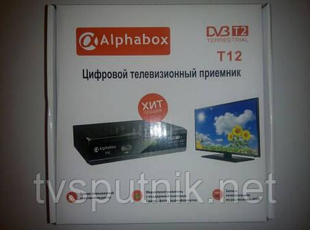 Эфирный тюнер Alphabox T12 (DVB-T2), фото 2