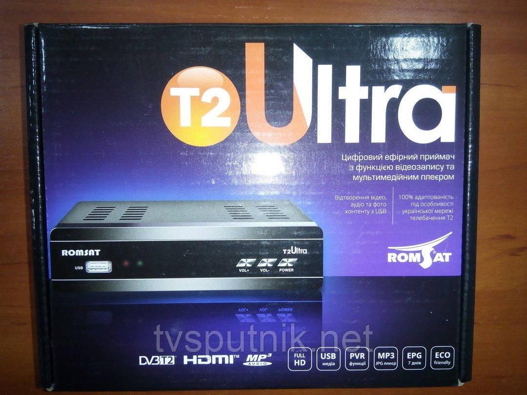 Эфирный тюнер Romsat T2 Ultra (DVB-T2)