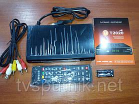 Эфирный тюнер Romsat T2020 (DVB-T2), фото 2
