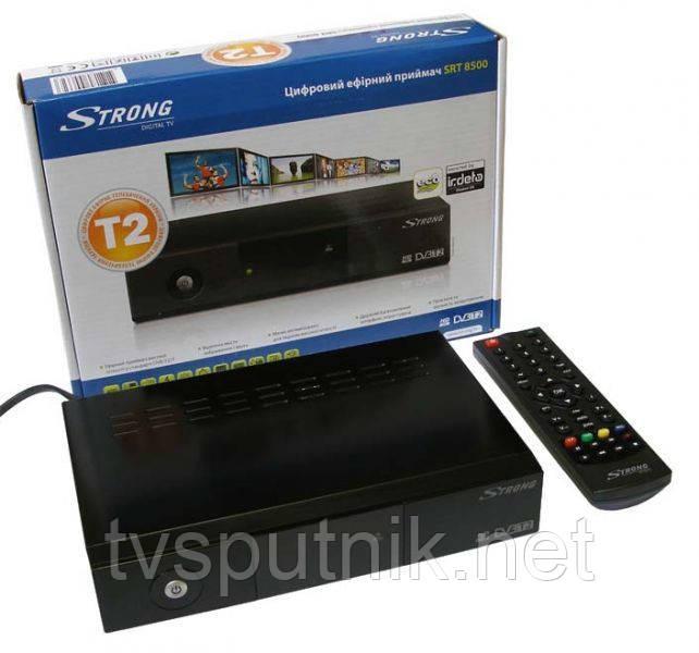 Эфирный цифровой тюнер DVB-T2 Strong SRT 8500 HD