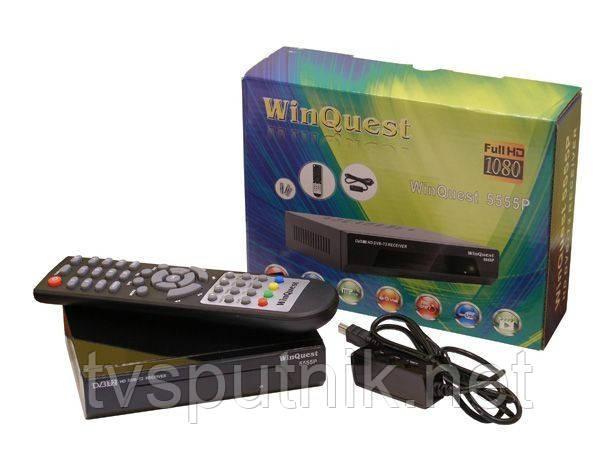Эфирный цифровой тюнер Winquest 5555Р (DVB-T/T2)