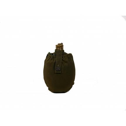 Фляга солдатская в чехле 0,8 л, фото 2