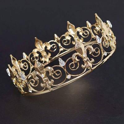 Мужские, универсальные, круглые короны