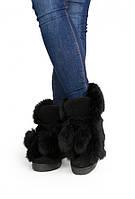 Зимние натуральние женские ботинки