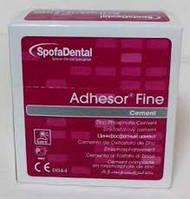 Адгезор файн (Adhesor Fine) цинкфосфатный цемент химического отверждения (80 г + 55 мл)