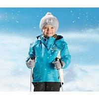 Спортивная зимняя курточка куртка на для девочки от бренда Lupilu размер на рост 86-92 см