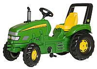 Трактор  педальный Rolly Toys X-Trac John Deer зелений