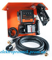 Gamma AC 70 - Мобильная топливораздаточная колонка для топлива с расходометром , 220В, 70 л/мин Автоматический