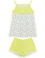 Пижама для девочки:цвет -Салатовый,размер-92 см,2 года