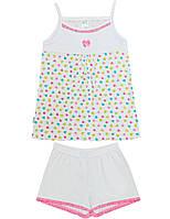 Пижама для девочки:цвет -Белый,размер-98 см,3 года