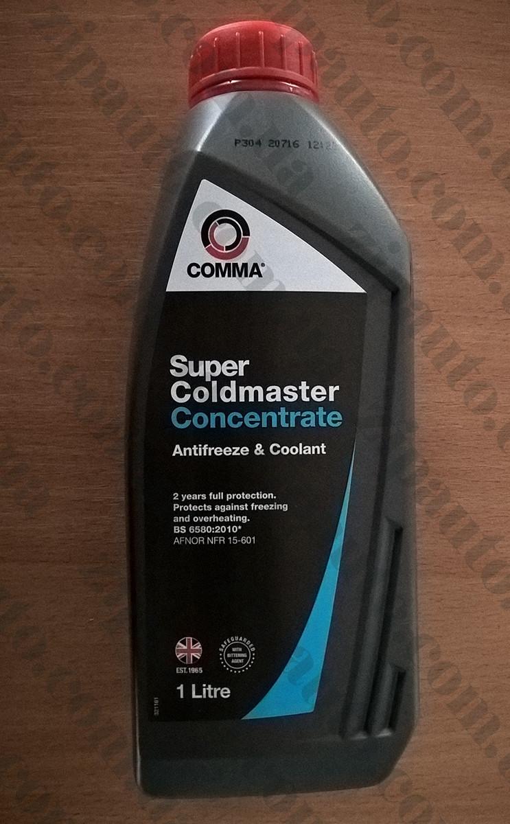 Антифриз концентрат COMMA SUPER COLDMASTER G11 синий -80С 1L