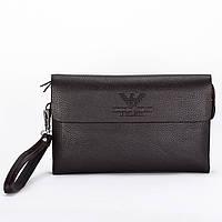 Портмоне клатч мужской Giorgio Armani | Черный | Купить кошелек