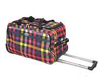 Дорожная чемодан-сумка на колесах. FOXY-LINE. Morena.