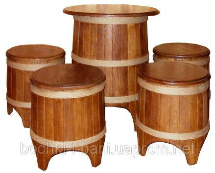 Набор мебели в бондарном стиле, фото 2