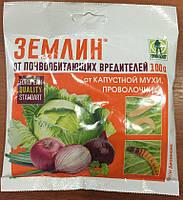 Инсектицид Землин от дротянки (проволочника), капустной мухи 100 граммов Грин Белт