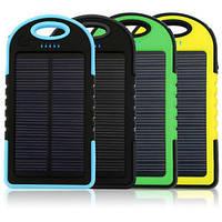 Портативное зарядное устройство на солнечной батарее MANGO IPX6 waterproof POWER BANK 12000 mAh solar