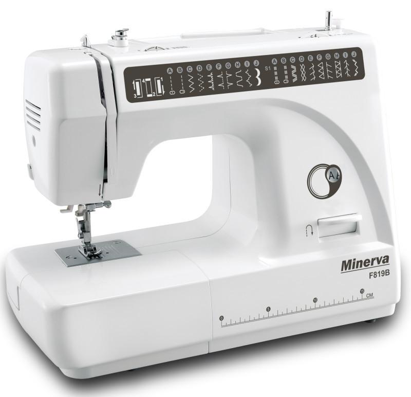 """Швейная машинка Minerva F819B """"M-F819B"""" + набор для шитья в ПОДАРОК"""
