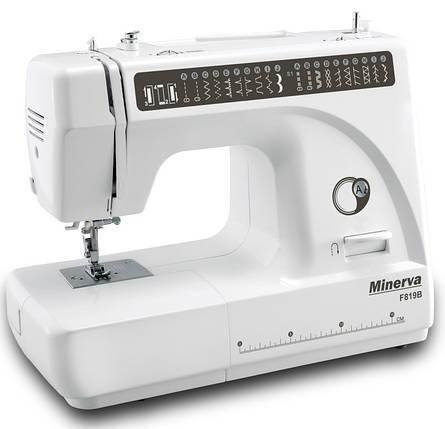 """Швейная машинка Minerva F819B """"M-F819B"""" + набор для шитья в ПОДАРОК, фото 2"""