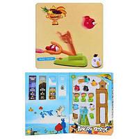 Детская настольная игра Angry Birds со звуком, игровой набор, детская рогатка с звуковыми и световыми эфектами