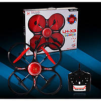 Квадрокоптер LH-X3, квадрокоптер на пульте, радиоуправляемый квадрокоптер для детей и взрослых