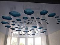 Натяжные потолки (резные,многоуровневые,фотопечать)